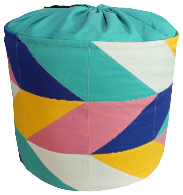 Simple Style Canvas Collapsible Laundry Basket Storage Bag Laundry Bag.