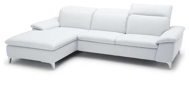 Modern Style Sofa 1911 leather sectional sofa in modern style - modern - sectional