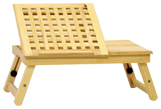 Furinno Pine Solid Wood Lapdesk.