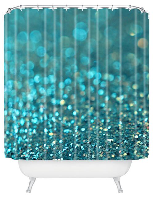 Lisa argyropoulos aquios shower curtain contemporary for Mona lisa shower curtain
