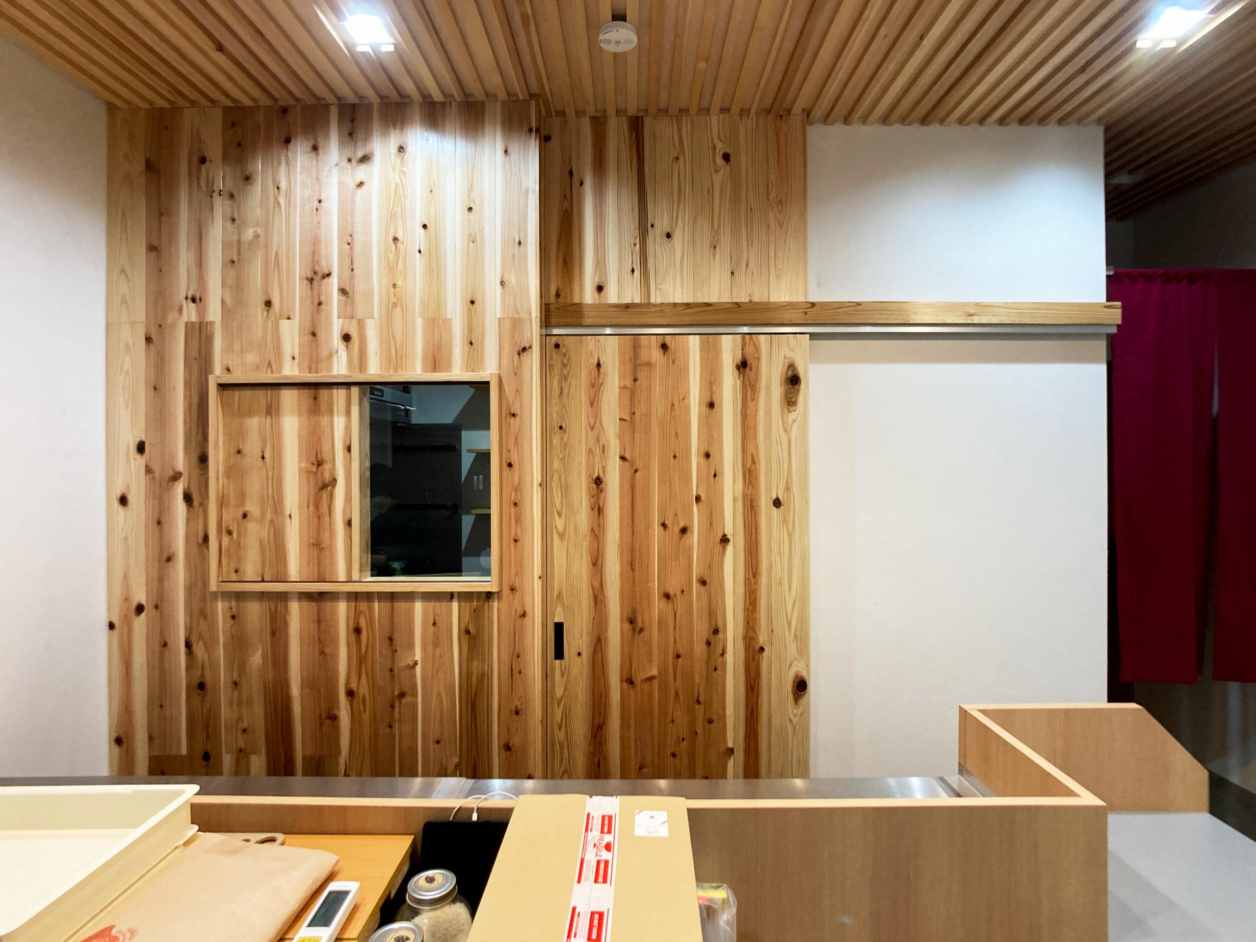 【店舗併用住宅】【リフォーム】飲食店 兼 製造工房
