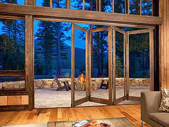 What is general price range for folding patio doors - 4 panel minimum?