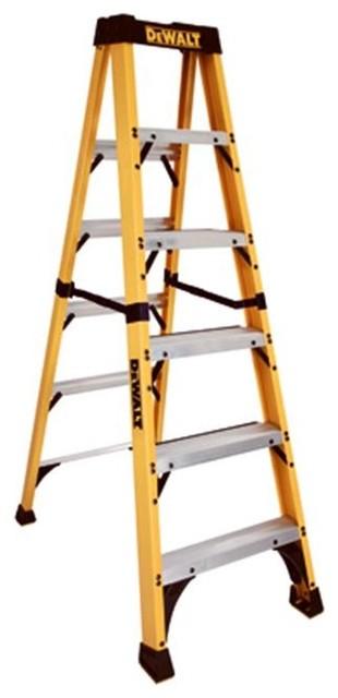 Louisville Ladder Dxl3410-06 Dewalt 6 Ft. Fiberglass 1aa Ladder.