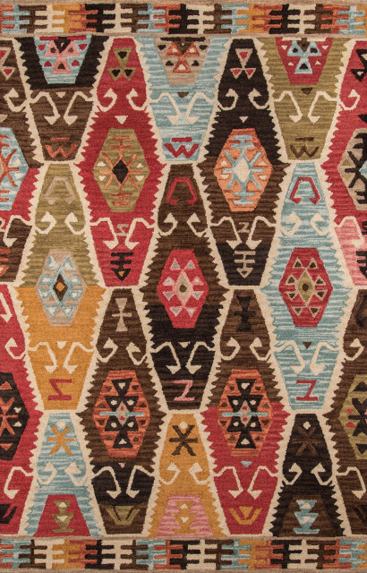 """Tangier Hand-Hooked Rug, Multi, 3'6""""x5'6"""""""