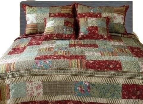 Tache Home Fashion - Tache 100 % Cotton Charming Fairy Tale Tea ... : patchwork quilt sets - Adamdwight.com