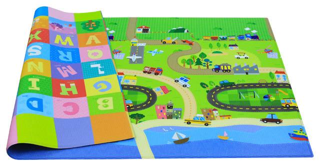 Baby Care Baby Playmat Happy Village Contemporary