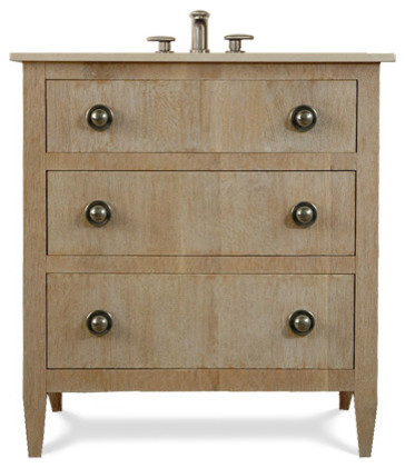 Pierre Sink Base Transitional Bathroom Vanities And Consoles By J Tribble