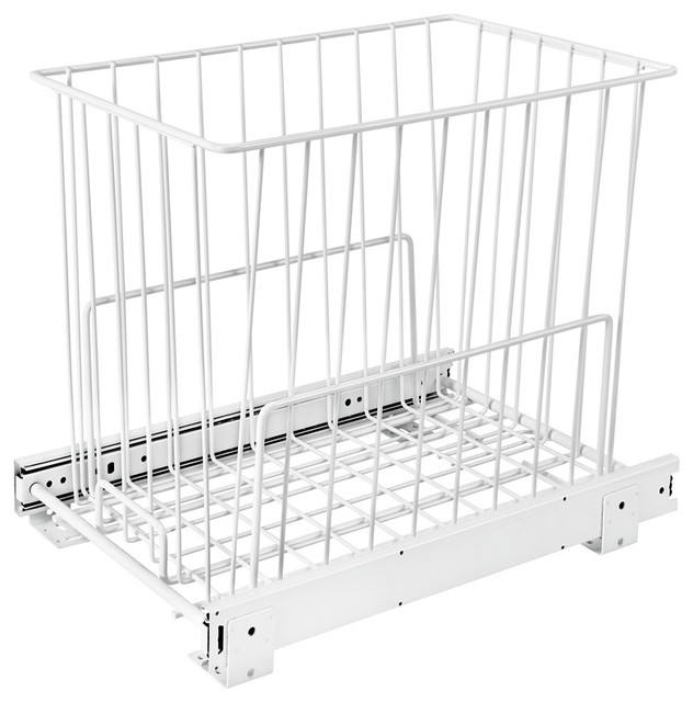 Rev-A-Shelf Pullout Wire Hamper.
