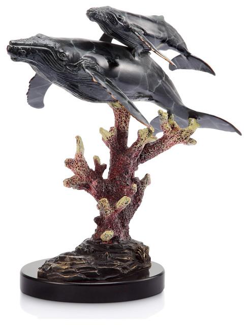 Humpback Whales Sculpture