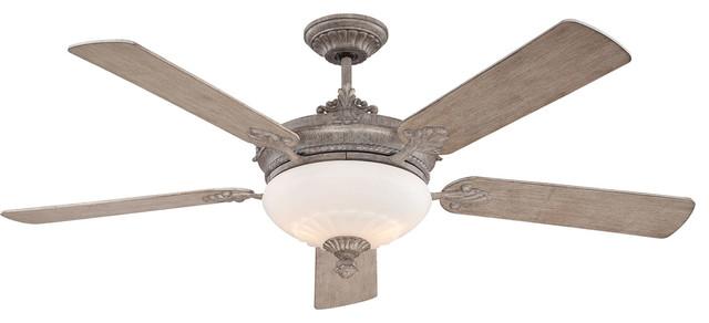 Bristol 2-Light Indoor Ceiling Fans, Aged Wood.