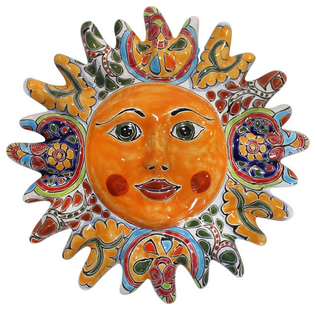Talavera Sun Face, 12\