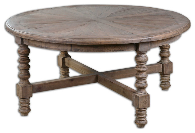 Samuelle Wooden Coffee Table.