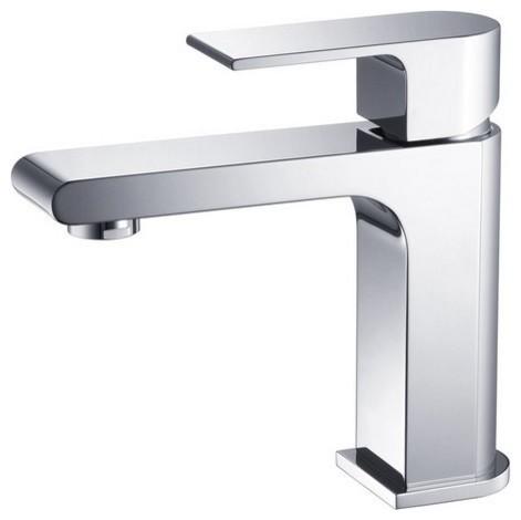 Fresca Fft9151ch Allaro Single Hole Mount Bathroom Vanity Faucet Chrome