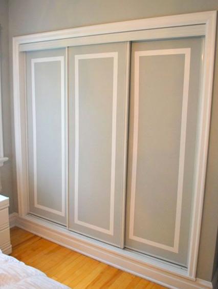 Painting Dated Closet Doors