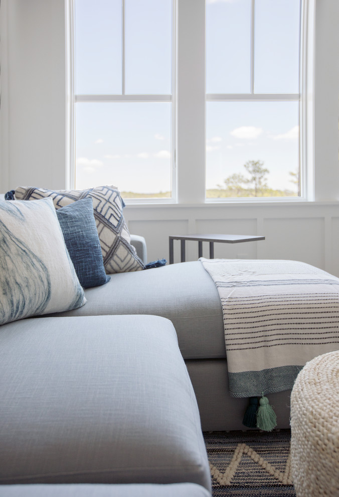 Example of a trendy home design design in Charleston