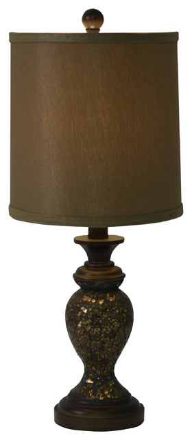 Mosaic table lamp copper transitional table lamps