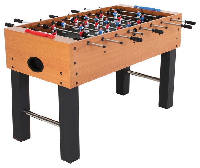 Classic Foosball Table With Abacus Scoring And Internal Ball Return  Contemporary Game Tables
