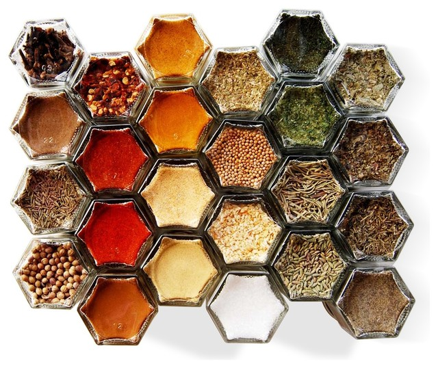 Organic Spice Rack Fascinating Everything Magnetic Spice Rack Includes 60 Organic Spices