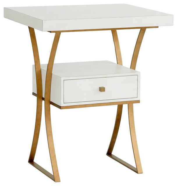 Logan Side Table ~ Redford house logan side table modern tables