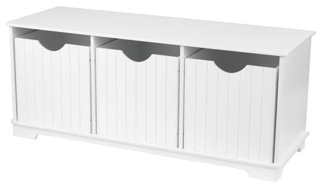 Nantucket Storage Bench By Kidkraft Modern Kids Storage Benches And Toy Boxes