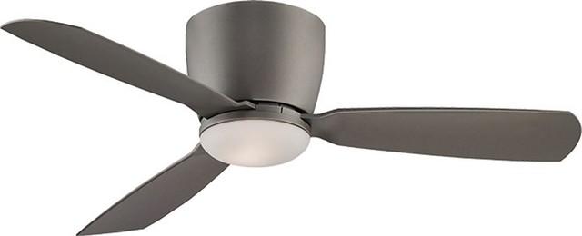 44 Embrace Ceiling Fan, Matte Greige, Gray Beige.
