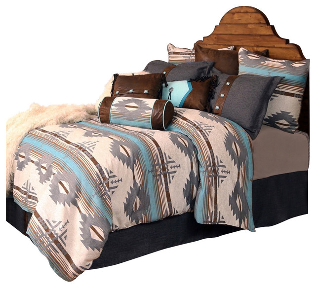 Badlands Southwest Striped Bedding Set Twin