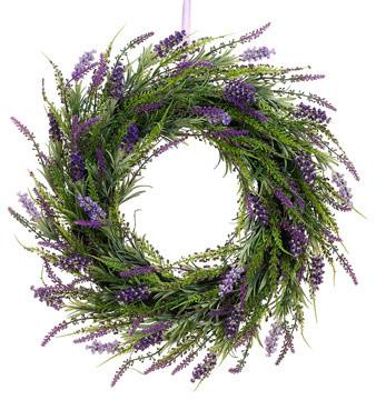 Lavender Twig Wreaths, Pack Of 2.