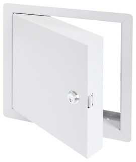 High Security Fire Rated Insulated Access Door with Flange ...