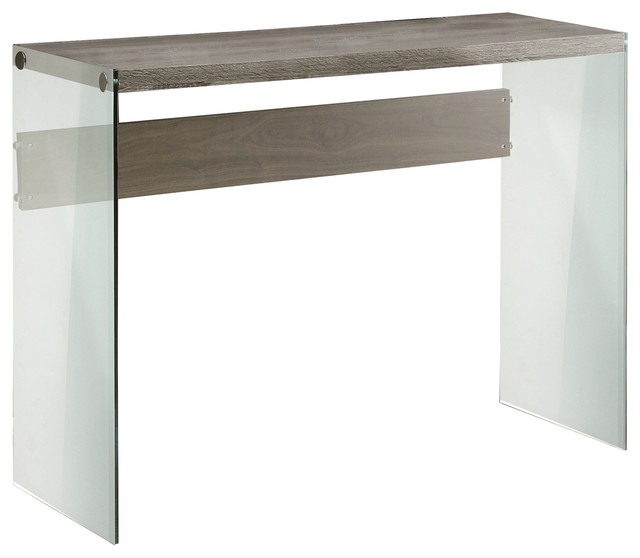 tempered glass console table contemporary tables with shelf in transparent uk