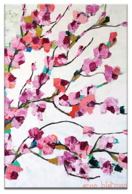 Pink Magnolia, Canvas Print.