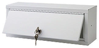 "Lock Box Series Medicine Cabinet, 13""x5"", Keyed Alike"