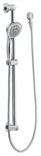 Moen Hand Shower, Chrome/brushed Chrome, 33x8x10.
