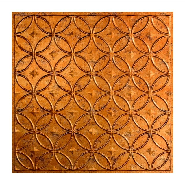 Shop Houzz ACP Fasade 12x12 Rings Ceiling Tile  : transitional ceiling tile from www.houzz.com size 640 x 602 jpeg 167kB