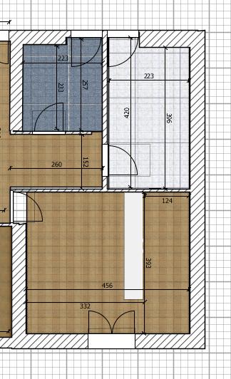 Bagnetto bagno grande camera cabina armadio for Grande cabina armadio