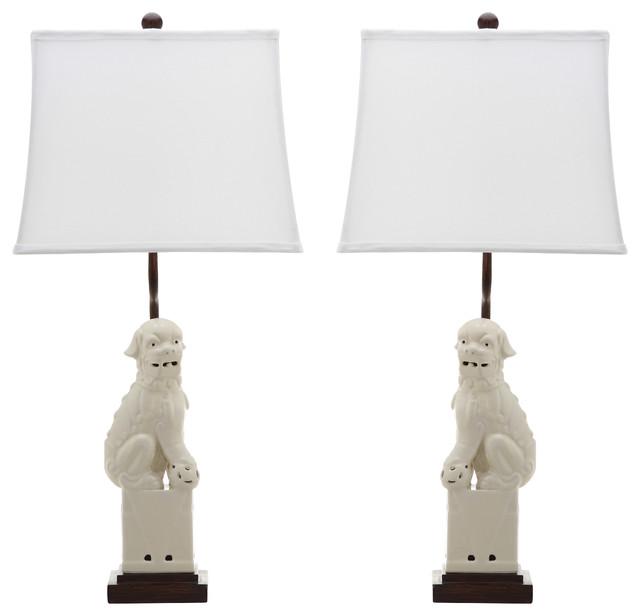 Safavieh Foo 28.5-Inch High Dog Table Lamp.