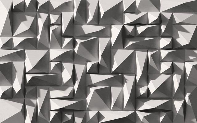 Wallpepper Studs Wallpaper Design, Black And White.