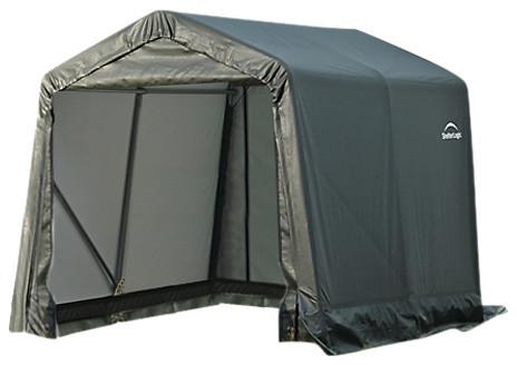 8&x27;x12&x27;x8&x27; Peak Style Shelter Green.