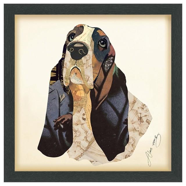 Basset Hound Fine Art Print.