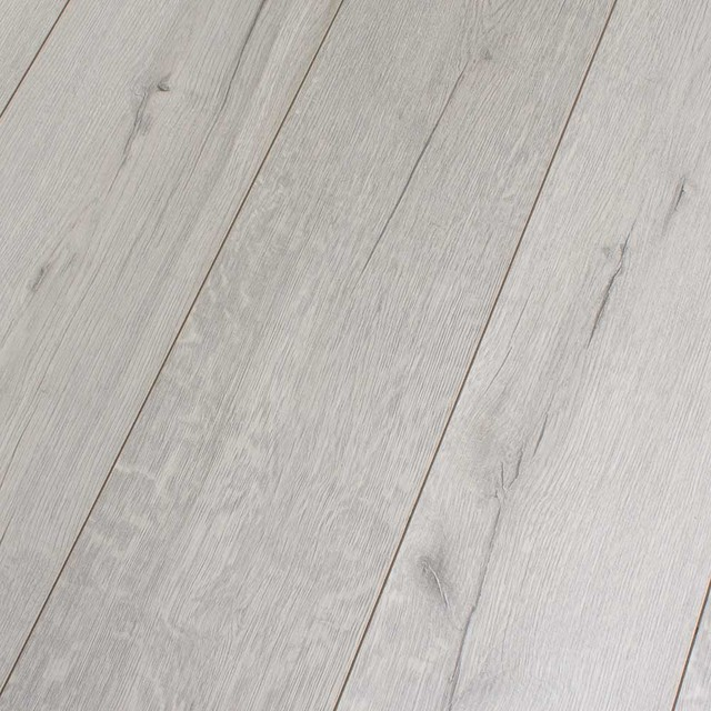 Kronotex Robusto Rip Oak White 12 Mm Laminate Flooring