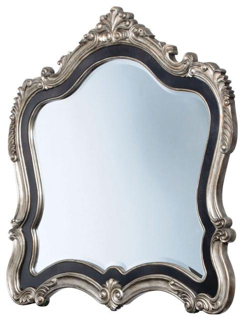 Wilington Mirror, Antique Platinum.