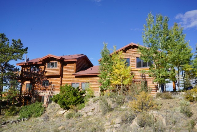 Log Home Restoration Canyon City Colorado