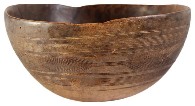 Contemporary Decorative Bowls Fair Tuareg Wood Bowl  Contemporary  Decorative Bowls Design Mix Design Ideas