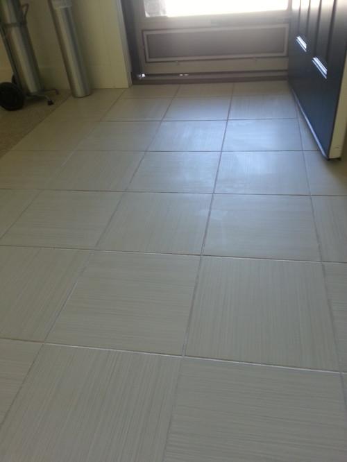 I Waxed My No Wax Ceramic Tile Please Help