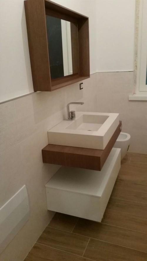 Colore pareti del bagno - Decorazioni pareti bagno ...