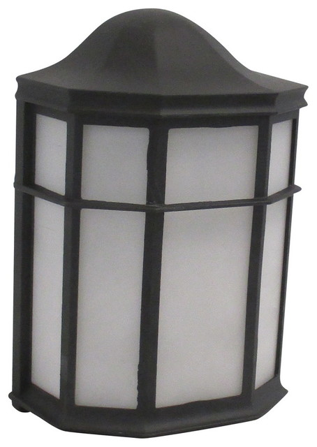 Black With White Acrylic Led Exterior Wall Asian Outdoor Wall Lights And Sconces By Lighting Lighting Lighting