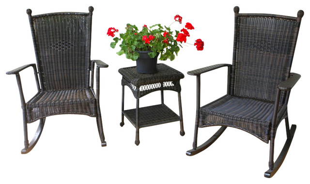 Portside Classic Rocker Set, Dark Roast.