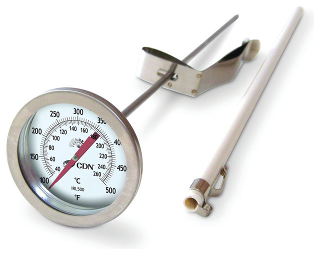 Long Stem Fry Thermometer Modern Kitchen Thermometers