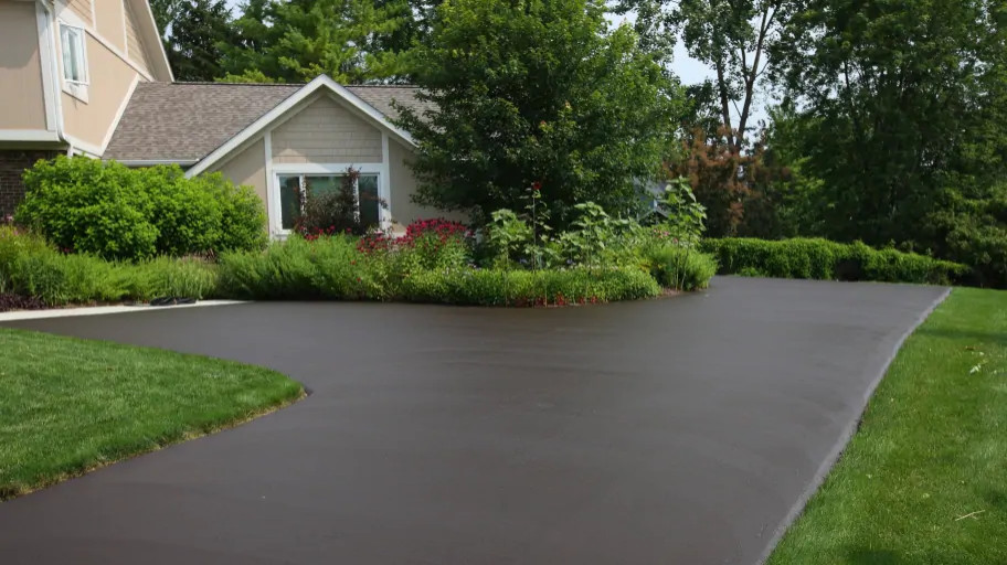 Black Top Driveway that is not Permeable Surface