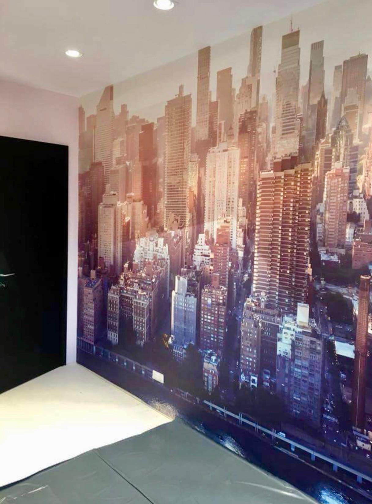 Dekorative Wände