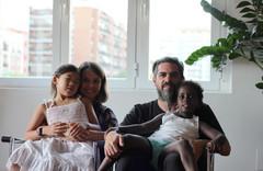 Visita privada: El piso en Madrid de una familia multicultural